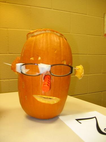 pumpkin carving Dow chemistry nerd
