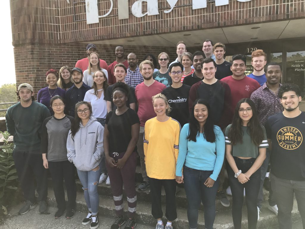 2019 summer chemistry research students