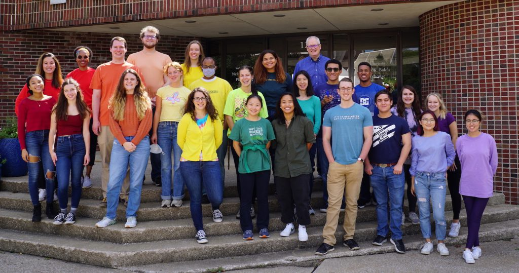 2021 Chemistry Summer research students